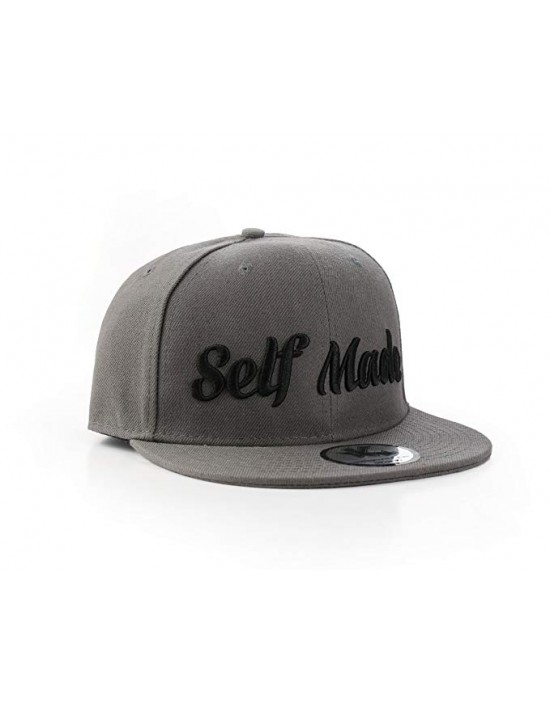 "Underground Kulture ""Self Made"" Grey Snapback"