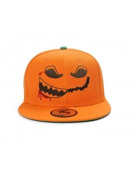 Underground Kulture Halloween Pumpkin Orange Snapback