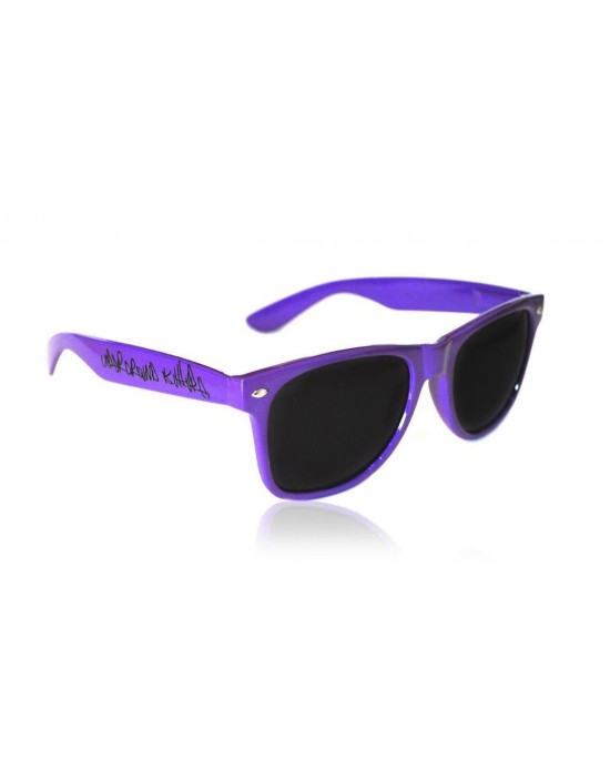 Underground Kulture Purple Retro Drifter Style Sunglasses Unisex
