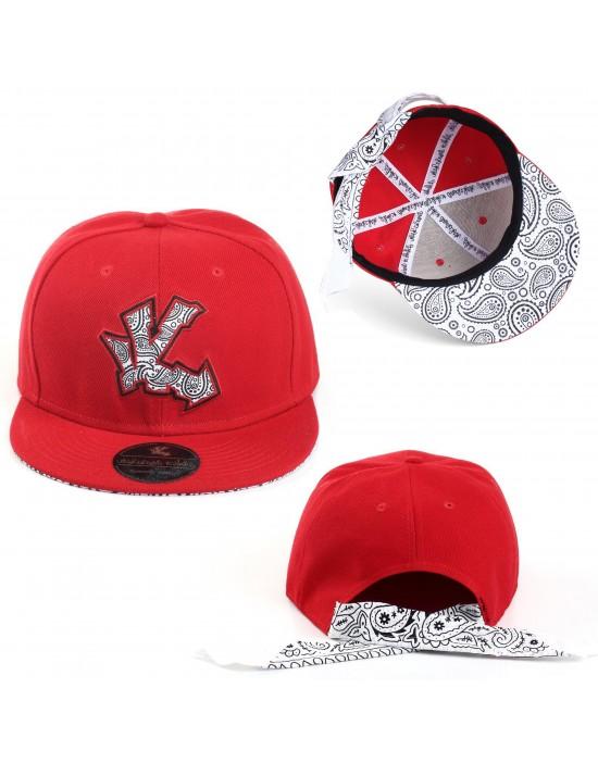 Underground Kulture Bandana Tie Back Cap (Red)