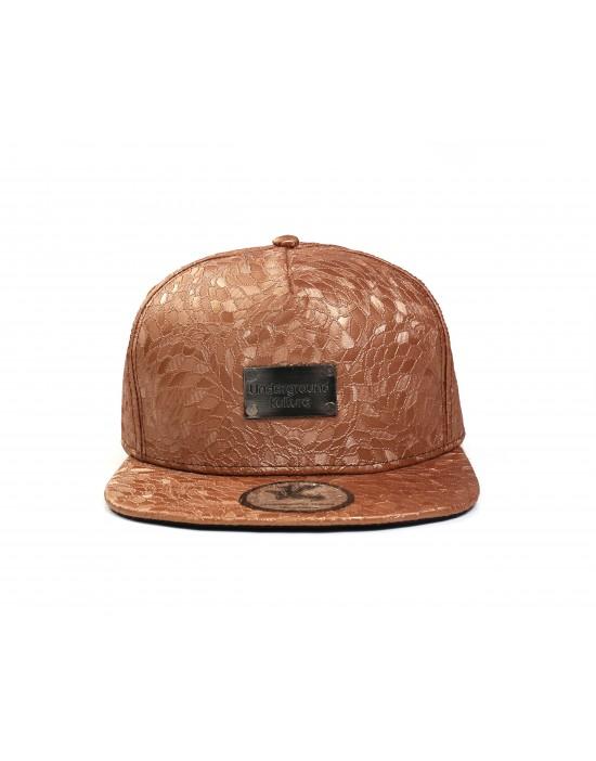 Underground Kulture Burnt Autumn Snapback Baseball Cap