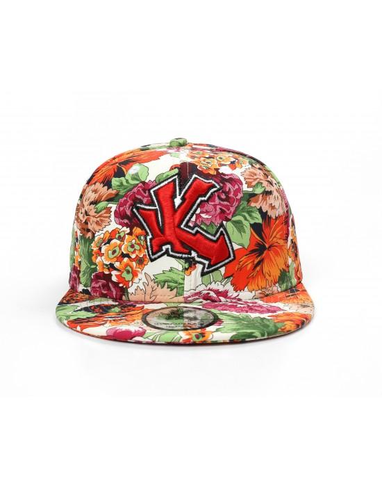 Underground Kulture Floral Snapback Cap