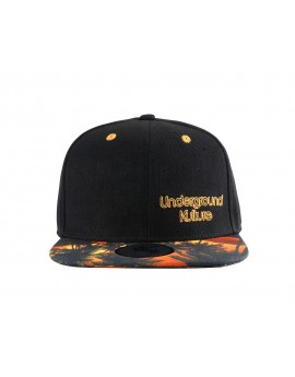 Underground Kulture Tropical Series Snapback Baseball Cap - Florida Sunset