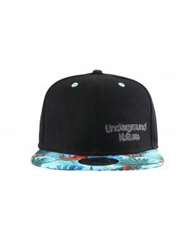 Underground Kulture Tropical Series Snapback Baseball Cap - Molokai