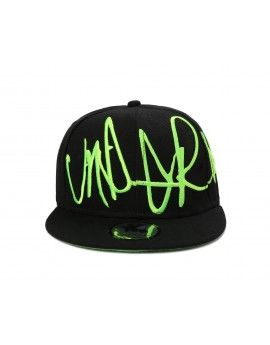 Underground Kulture Troublesome Green Fitted Cap
